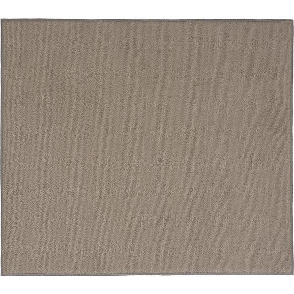 Abtropfmatte Marianne in versch. Farben - Sandfarben/Anthrazit, Textil (40/45cm) - Mömax modern living