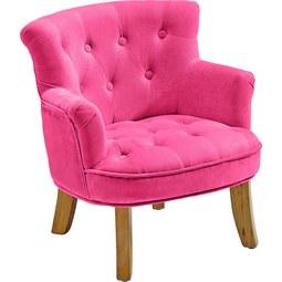 Kindersessel Pink - Pink, ROMANTIK / LANDHAUS, Textil (49/50/53cm) - Premium Living