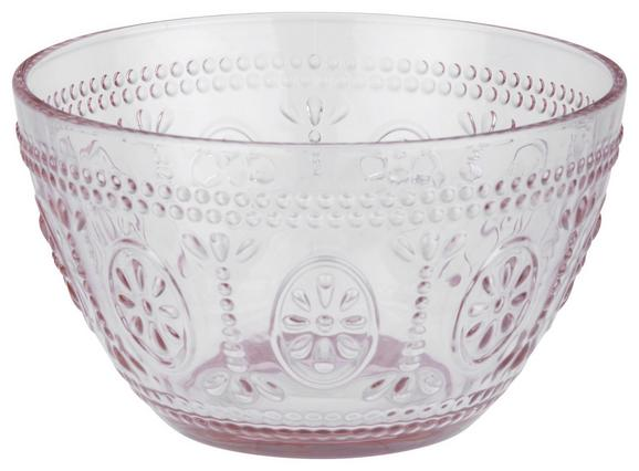 Skleda St. Remy - roza, Romantika, steklo (13/7,7cm) - Mömax modern living
