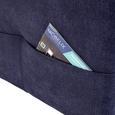 Canapea Modulară Livorno - albastru/albastru închis, Modern, textil (238/165cm)
