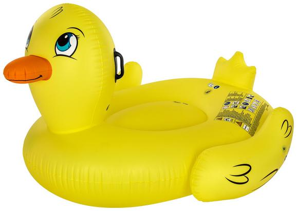 Schwimmtier Ducky Gelb - Gelb, Kunststoff (186/127cm) - Mömax modern living