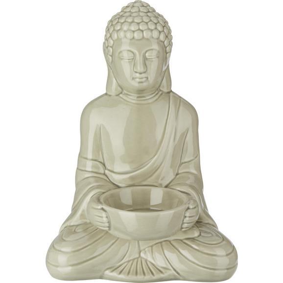 Držalo Za Čajno Svečko Buddha - siva, Trendi, keramika (11,6/9/16,7cm) - Mömax modern living