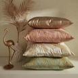 Zierkissen Laguna Pink/gold 40x50cm - Pink/Goldfarben, Textil (40/50cm) - Mömax modern living