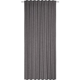 Fertigvorhang Leo Grau 135x255cm - Grau, Textil (135/255cm) - Premium Living