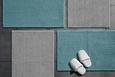 Fürdőszobaszőnyeg Chenille - Ezüst, Textil (60/90cm) - Mömax modern living
