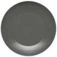 Plitvi Krožnik Sandy - siva, Konvencionalno, keramika (26,8/2,42cm) - Mömax modern living