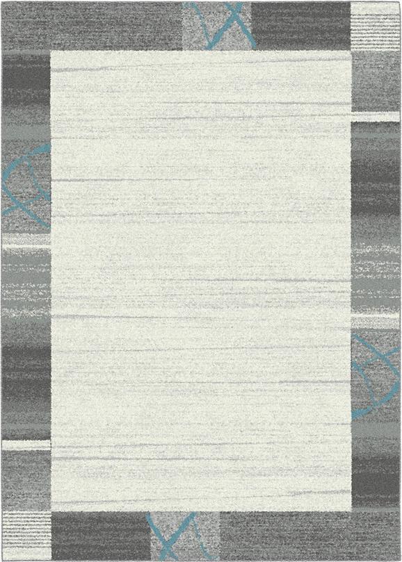 Tkana Preproga Nina 1 - modra/siva, Konvencionalno, tekstil (80/150cm) - MÖMAX modern living