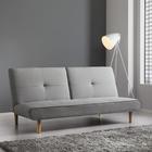 Sofa Katja mit Schlaffunktion - Hellgrau, MODERN, Holz/Textil (183/85/94cm) - Mömax modern living