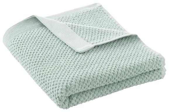 Handtuch Juliane Hellgrün - Hellgrün, Textil (50/100cm) - Premium Living