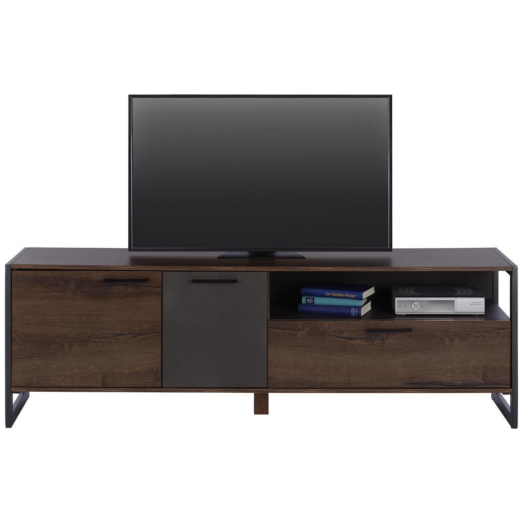 TV-Element Braun/Eichefarben