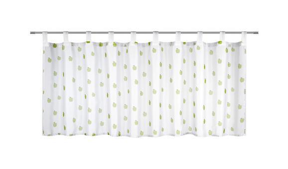 Vitrázsfüggöny Früchtchen - zöld, Textil (50/150cm) - MÖMAX modern living