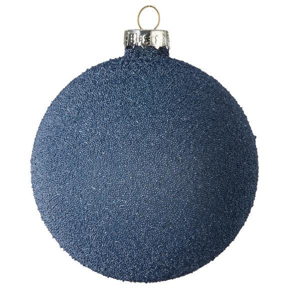 Kroglica Za Božično Jelko Lena - modra, steklo (8cm) - Mömax modern living