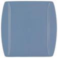 PLITVI KROŽNIK PURA BLEU - svetlo modra, Moderno, keramika (25,3/25,5cm) - Mömax modern living