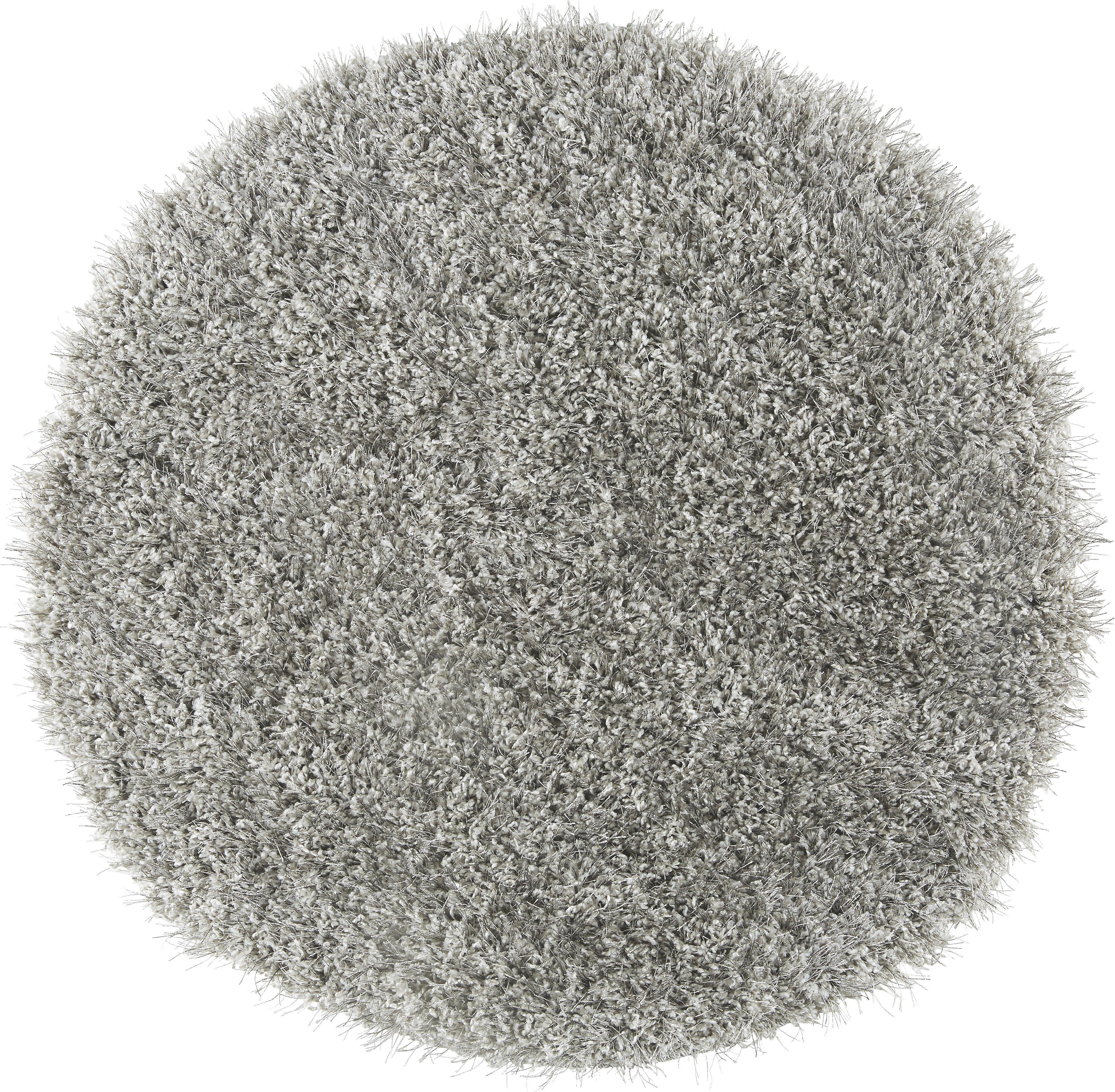 Hochflorteppich Lambada - Silberfarben (67cm) - MÖMAX modern living
