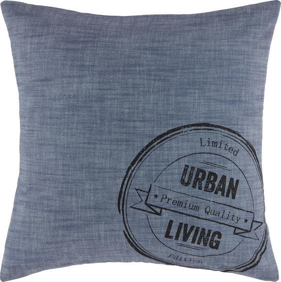 Okrasna Blazina Urban Jeans - modra, Moderno, tekstil (45/45cm) - MÖMAX modern living