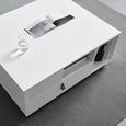 COUCHTISCH in weiß 'Mick' - Braun/Weiß, MODERN, Holzwerkstoff/Kunststoff (74/88/35cm) - Bessagi Home