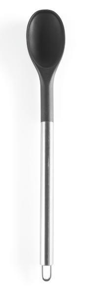 Kuhalnica Luca - barve nerjavečega jekla/črna, kovina/umetna masa (33cm) - MÖMAX modern living