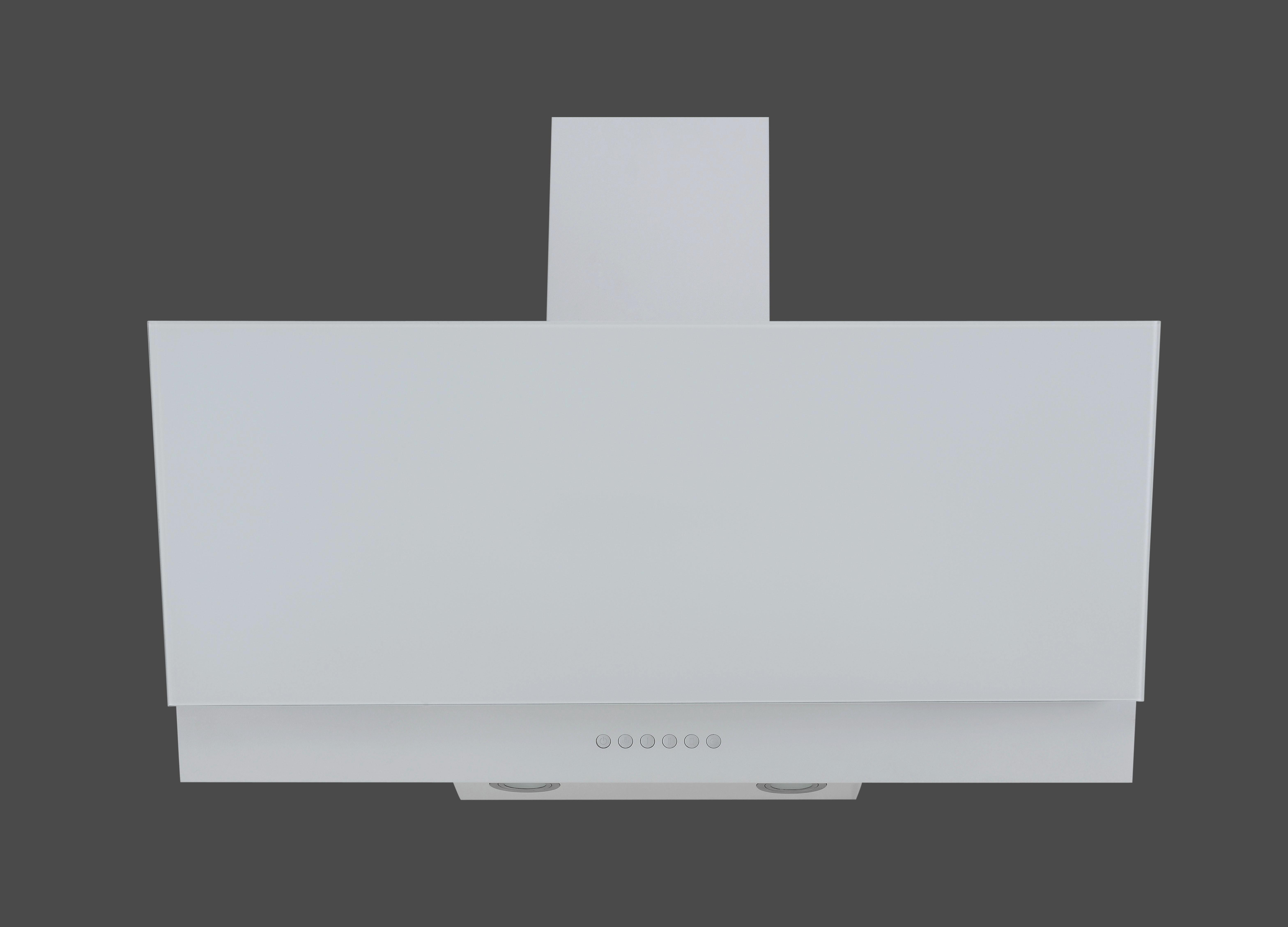 Dunstabzugshaube Ch66038-90w - Weiß, MODERN, Metall (90/70,2-100,2/41,8cm)