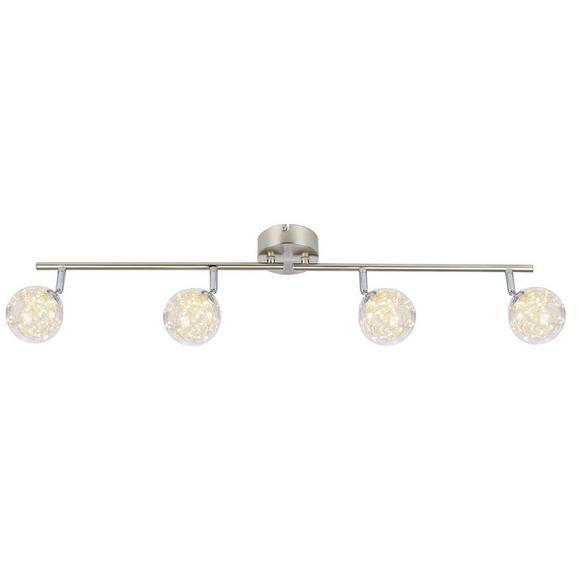 LED-Strahler 56804-4 max. 14 Watt - Klar, MODERN, Glas/Metall (80/10/19,5cm)