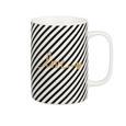 Cană Pentru Cafea Gloria - alb/auriu, Modern, ceramică (7,9/10,8cm) - Modern Living