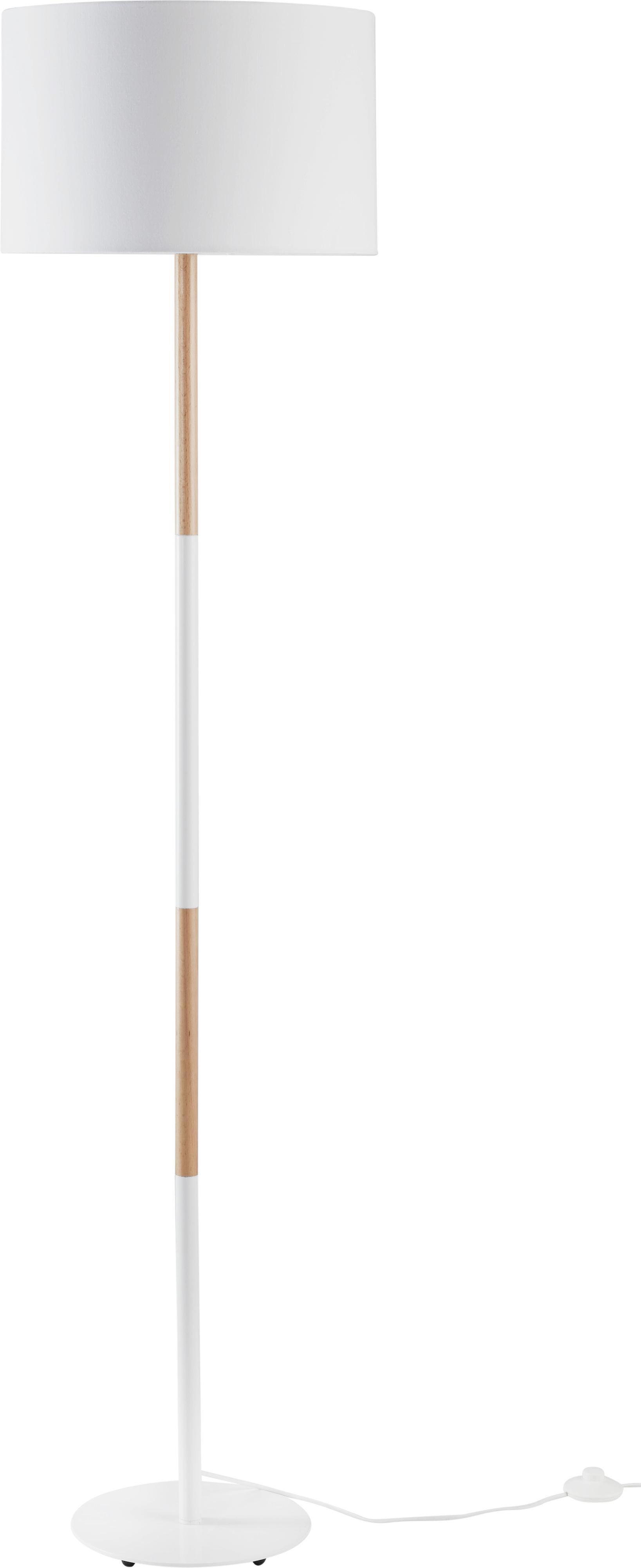 Stehleuchte Allanah - MODERN, Holz/Metall (40/167,2cm) - MÖMAX modern living