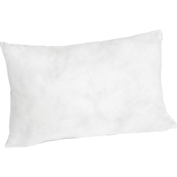 Pernă Interioară Pia - alb, textil (25/45cm) - Nadana