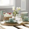 Farfurie Pentru Desert Sandy - verde mentă, Konventionell, ceramică (20,4/1,8cm) - Modern Living
