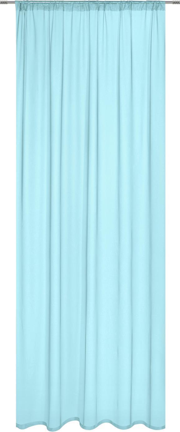 KÉSZFÜGGÖNY THEA - Mentazöld, romantikus/Landhaus, Textil (145/245cm) - Mömax modern living