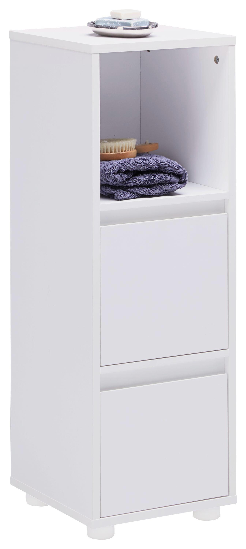 Schrank Basic - Weiß, MODERN, Holz (30/86,5/29,5cm) - MODERN LIVING
