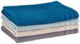 Saunatuch Waffel Petrol - Petrol, Basics, Textil (90/180cm) - Mömax modern living