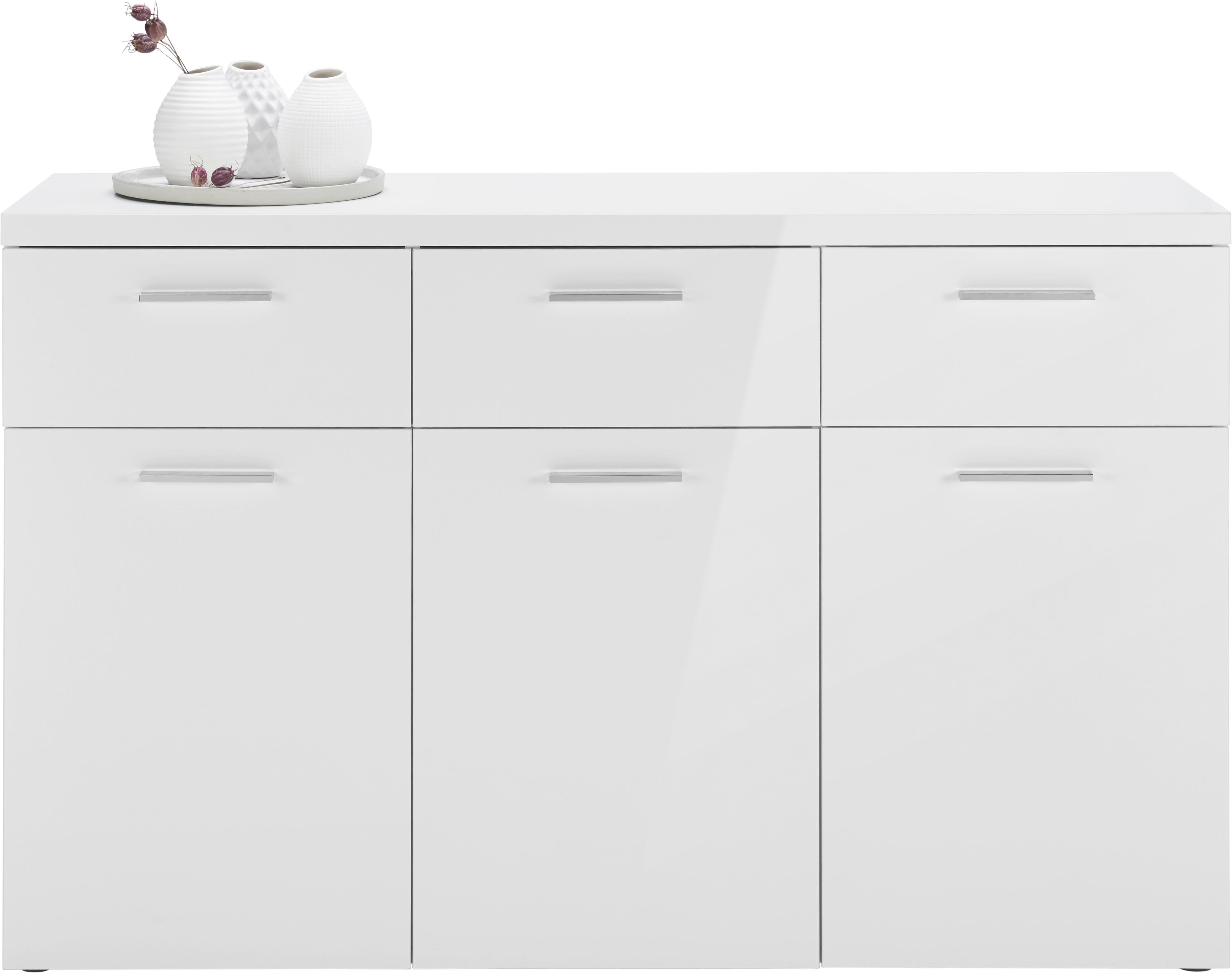 Verschiedene Weisses Sideboard Dekoration Von Cool Cool In Wei Hochglanz Modern With
