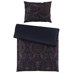 Bettwäsche Shirin in Blau ca. 140x200cm - Blau, LIFESTYLE, Textil (140cm) - Premium Living
