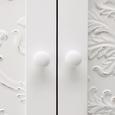 Kleiderschrank Valentina - Weiß/Pinienfarben, MODERN, Holz (80/128,5/36cm) - Modern Living