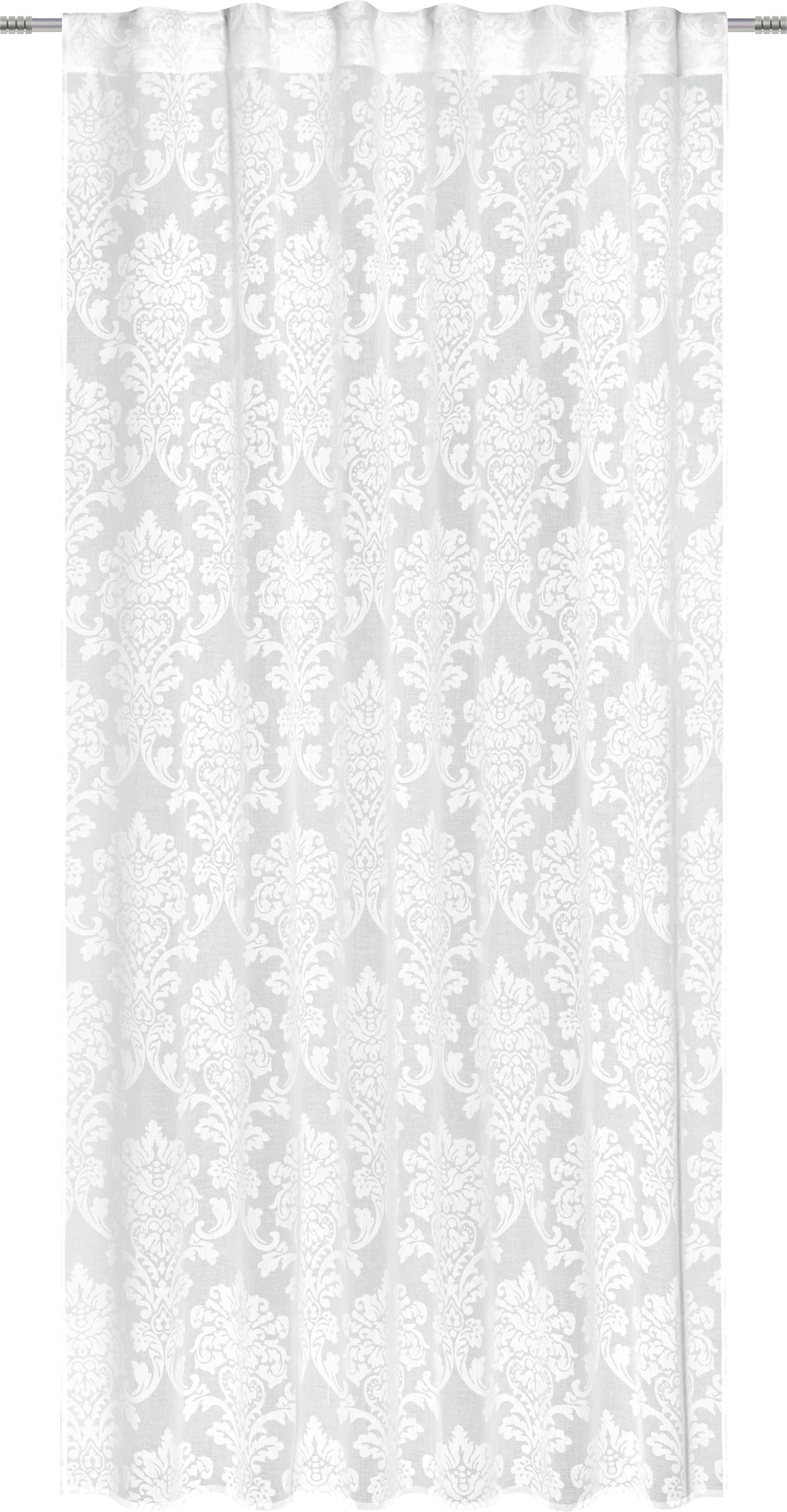 Schlaufenschal Ornament, ca. 140x245cm - Creme, LIFESTYLE, Textil (140/245cm) - MÖMAX modern living