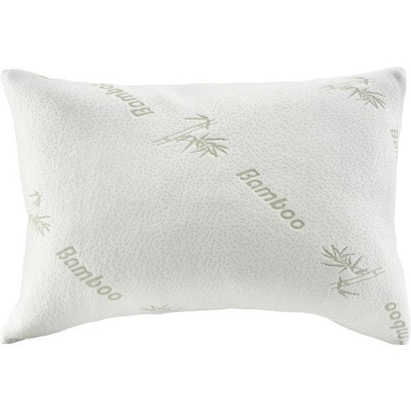 Pernă Bambus 40x80cm - alb, textil (40/80cm) - Nadana
