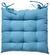 Sitzkissen Bill Blau 40x40cm - Blau, Textil (40/40cm) - Mömax modern living