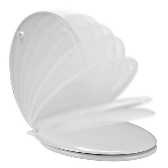 Wc-ülőke Luka    -sb- - Fehér, Műanyag (37.3/5.7/45cm)