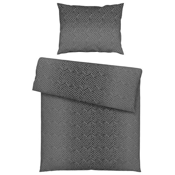bettw sche axel grau 140x200cm online kaufen m max. Black Bedroom Furniture Sets. Home Design Ideas