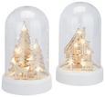 LED-Dekoleuchte AAron Verschiedene Dessins - Holz/Kunststoff (11,5/11,5/19cm)