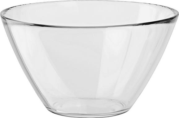 Schale Basic aus Glas - Klar, Glas (17/9,5/17cm) - Mömax modern living