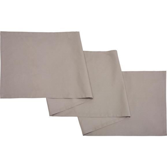Dolg Nadprt Steffi - svetlo siva, tekstil (45/240cm) - Mömax modern living