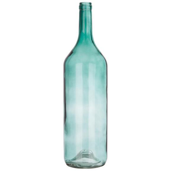 Okrasna Steklenica Estelle - zelena, steklo (14,5/54cm) - Mömax modern living