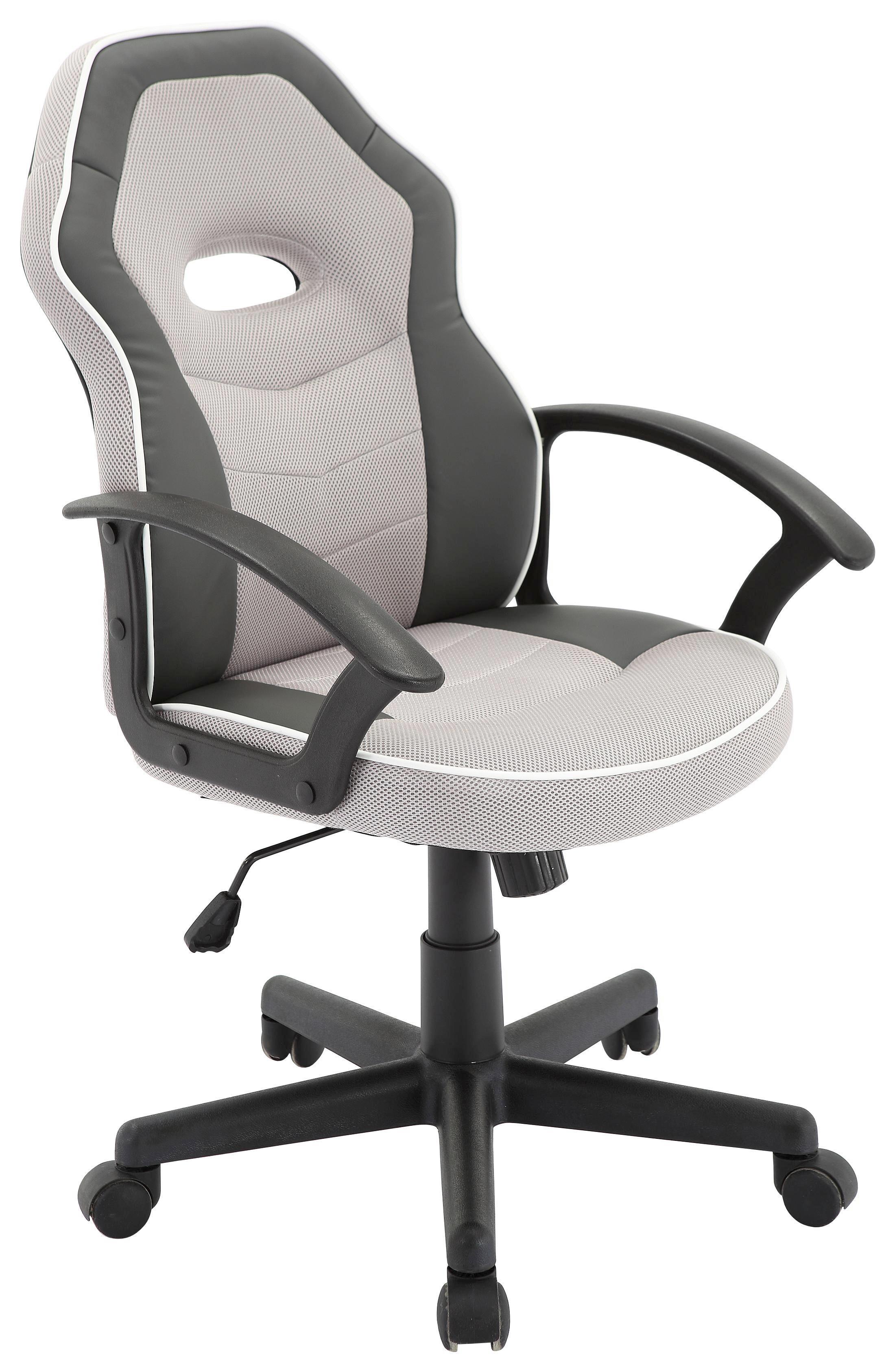 Drehstuhl weiß schwarz  Drehstuhl in Grau/Weiß online kaufen ➤ mömax