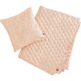 Tagesdecke inkl. Kissen Aida 140x220cm - Rosa, MODERN, Textil (140/220cm)