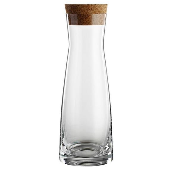 Karaffe Vincent aus Glas ca. 1l - Klar, KONVENTIONELL, Glas (1,0l) - Bohemia