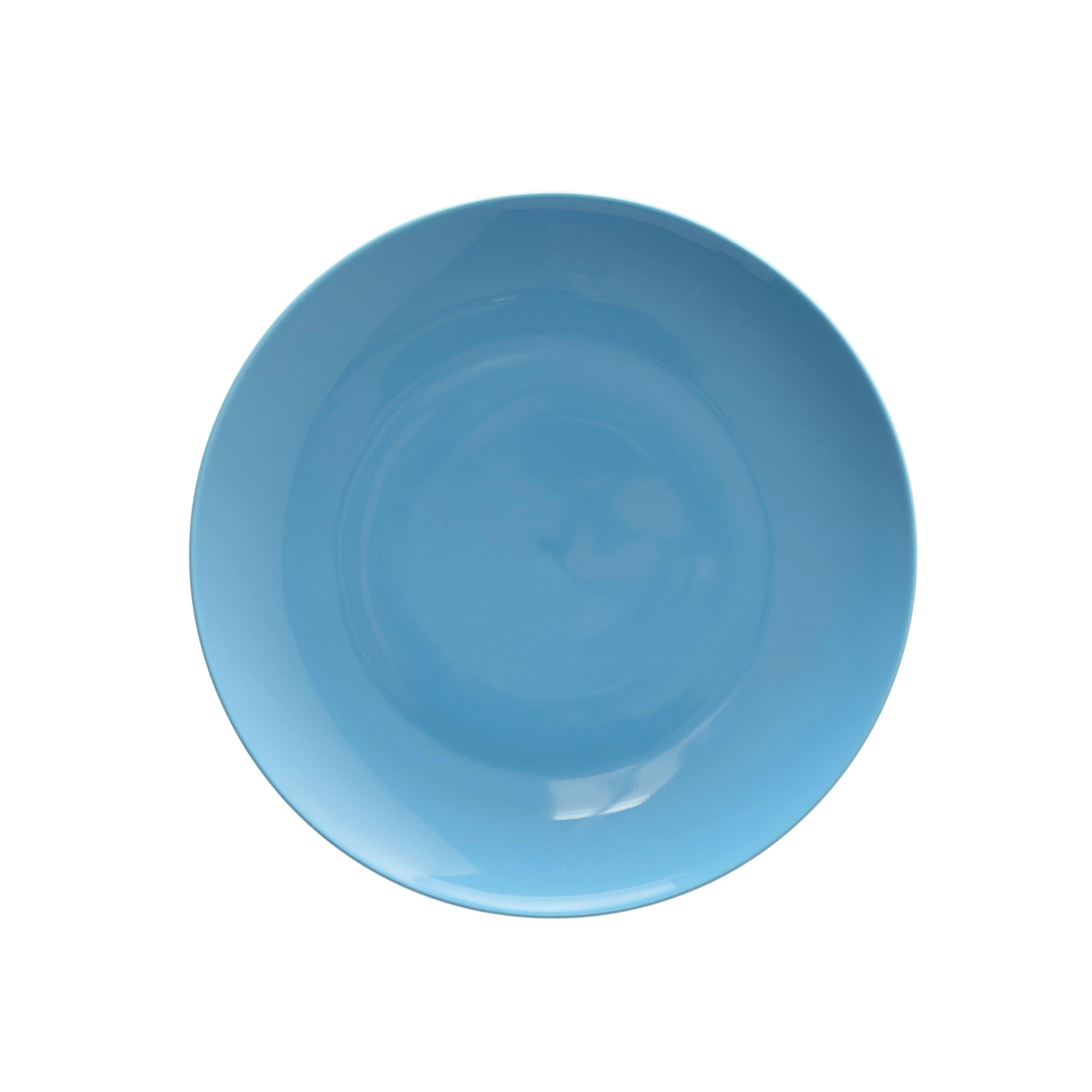 Dessertteller Sandy - Türkis, KONVENTIONELL, Keramik (20,4/1,8cm) - MÖMAX modern living