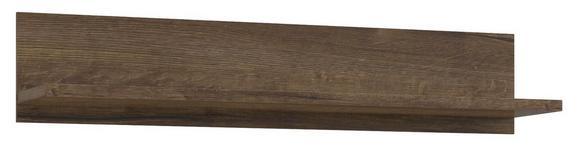 Falipolc Lacjum - Tölgyfa, modern, Faalapú anyag (150/29,6/31,1cm)