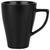 Kaffeebecher Nele Schwarz - Schwarz, MODERN, Keramik (8,5/11cm) - Premium Living
