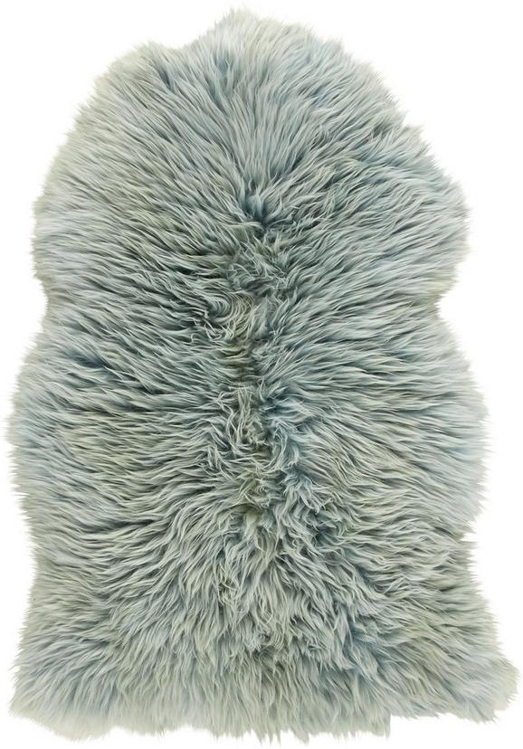 Schaffell Jenny in Mint, ca. 90x60cm - Mintgrün, Textil (90-105/60cm) - MÖMAX modern living