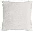 Zierkissen Rabbit Weiß 45x45cm - Weiß, Textil (45/45cm) - Mömax modern living